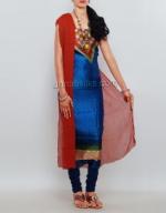 Dupion Silk Salwar Suit_10