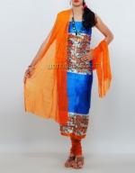 Dupion Silk Salwar Suit_1