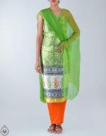 Shop Online Dupion Silk Salwar Kameez_40