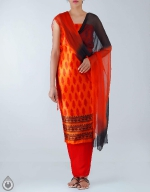 Shop Online Dupion Silk Salwar Kameez_41