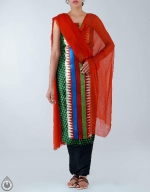 Shop Online Dupion Silk Salwar Kameez_42