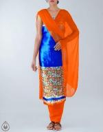 Shop Online Dupion Silk Salwar Kameez_43