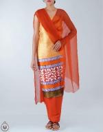 Shop Online Dupion Silk Salwar Kameez_44