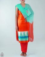 Dupion Silk Salwar Suit