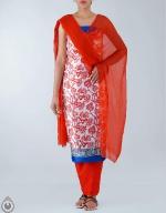 Shop Online Dupion Silk Salwar Kameez_46
