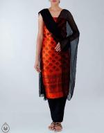 Shop Online Dupion Silk Salwar Kameez_47
