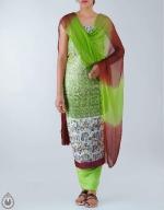 Shop Online Dupion Silk Salwar Kameez_50