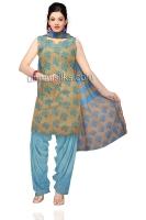 Online Jaipuri Silk Salwar Kameez_10