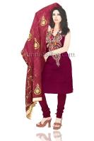 Online Jaipuri Silk Salwar Kameez_16