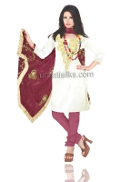 Online Jaipuri Silk Salwar Kameez_17