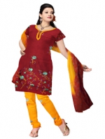 Online Jaipuri Silk Salwar Kameez_6
