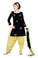 Mataka & Dupion Silk Salwar Kameez_2