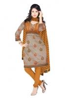 Mataka & Dupion Silk Salwar Kameez_3