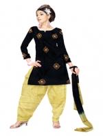 Mataka & Dupion Silk Salwar Kameez_7