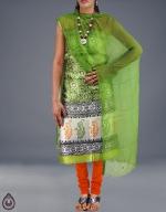 Shop Online Dupion Silk Salwar Kameez_19