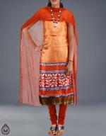 Shop Online Dupion Silk Salwar Kameez__22