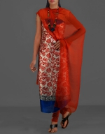 Shop Online Dupion Silk Salwar Kameez__23