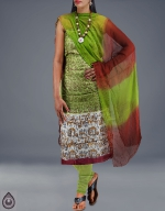 Shop Online Dupion Silk Salwar Kameez__27