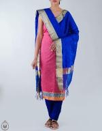 Shop Online Raw Silk Salwar Kameez_34