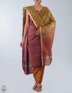Shop Online Raw Silk Salwar Kameez_16