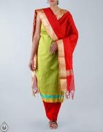 Shop Online Raw Silk Salwar Kameez_35