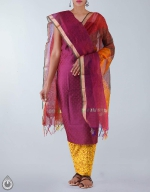 Shop Online Raw Silk Salwar Kameez_18