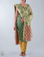 Shop Online Raw Silk Salwar Kameez_19