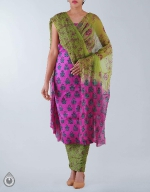 Shop Online Raw Silk Salwar Kameez_23