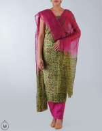 Shop Online Raw Silk Salwar Kameez_24