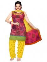 Online Tissue Silk Salwar Suits_4