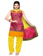 Online Tissue Silk Salwar Suits_5
