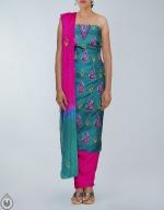 Shop Online Tusser Silk Salwar Kameez_17