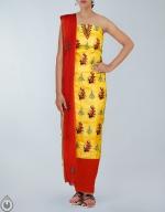 Shop Online Tusser Silk Salwar Kameez_18