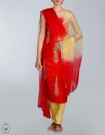 Shop Online Tusser Silk Salwar Kameez_21