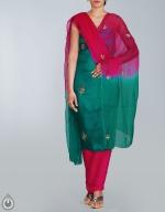 Shop Online Tusser Silk Salwar Kameez_22