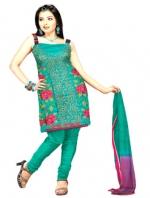 Online Tussar Silk Salwar Kameez_13
