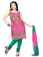 Online Tussar Silk Salwar Kameez_15