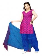 Online Tussar Silk Salwar Kameez_24