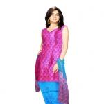 Online Tussar Silk Salwar Kameez_26