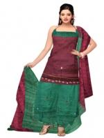 Online Tussar Silk Salwar Kameez_32