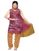 Online Tussar Silk Salwar Kameez_33