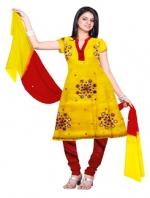 Online Tussar Silk Salwar Kameez_34
