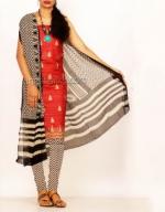 Online Tussar Silk Salwar Kameez_36