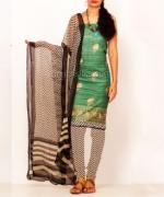 Online Tussar Silk Salwar Kameez_37