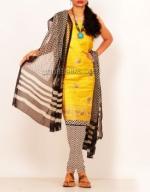 Online Tussar Silk Salwar Kameez_38