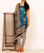Online Tussar Silk Salwar Kameez_39