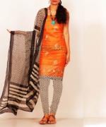 Online Tussar Silk Salwar Kameez_40