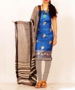 Online Tussar Silk Salwar Kameez_41