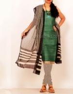 Online Tussar Silk Salwar Kameez_44
