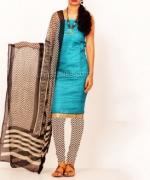 Online Tussar Silk Salwar Kameez_46
